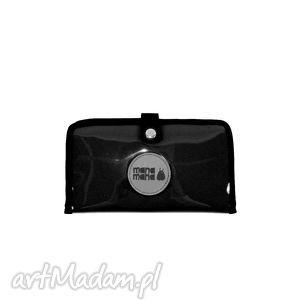 portfel mana #3, portfel, czarny, folia, mana-mana, święta prezent