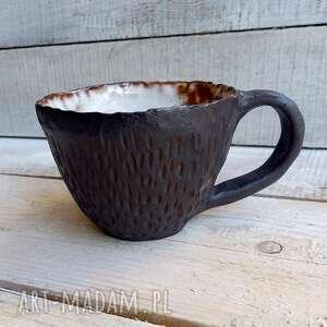 kubki duża filiżanka nigra, czarna, do kawy, kubek