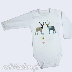 na święta upominki Body Jelonki - prezent dla niemowlaka , bluzeczka, body, koszulka