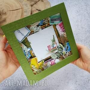 wyjątkowy prezent, ramka - shadowbox #1, ramka, shadowbox, prezentq, książki