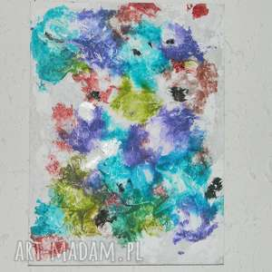 gniew oceanu-obraz, nowoczesny obraz, obraz do salonu, abstrakcja