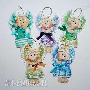 dla dziecka takie łobuziaki - aniołki, anioły, dekoracja, prezent, chrzciny