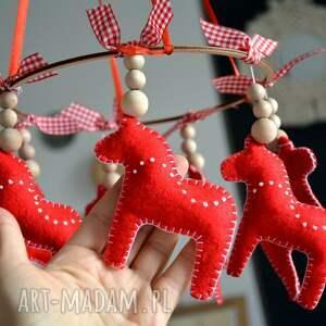 dekoracje dekoracja wisząca koniki, konik, wisząca, koń, folk