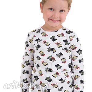 Bluzeczka w batmany , bluzka, batmany, hanmade, jesień, bawełna
