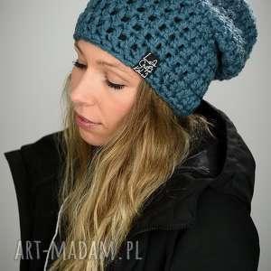 czapki czapka mono 18 - niebieska, na narty, snowboardowa