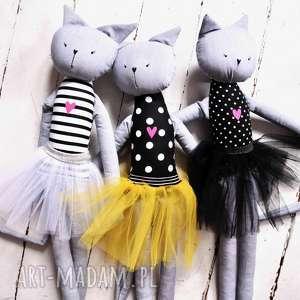 Kot duża kocia baletnica lalki rafineria cukru lalka, szmacianka
