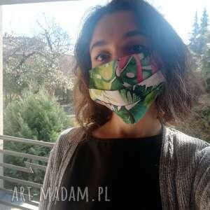 TESSITA! Maseczka, maska dwuwarstwowa ochronna do wielokrotnego