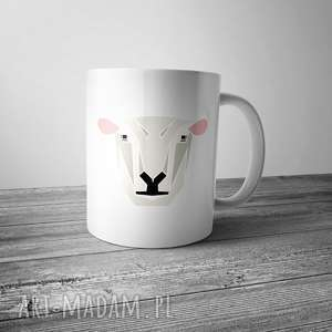 life fetish design kubek z owcą zoo, kubek, owca, grafika, kuchnia