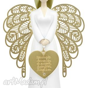 handmade ślub figura anioł you are an angel 15,5 cm