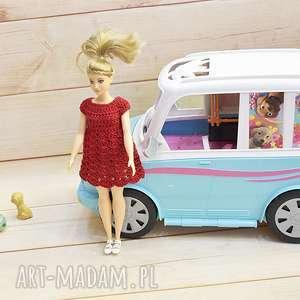 sukienka dla lalki barbie fashionistas xl 29cm, lalki, ubranka