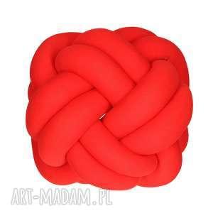 ręcznie pleciona dekoracyjna poduszka supeł turks head knotpillow 30x30