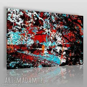 obrazy obraz na płótnie - abstrakcja nowoczesny 120x80 cm 00102