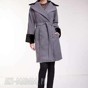 wyjątkowy prezent, płaszcze płaszcz leonor, kimonowy, kopertowy, futerko