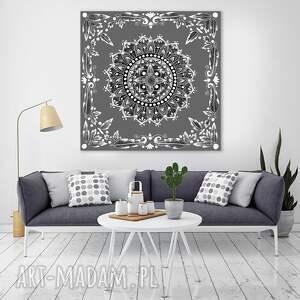 mandala 50x50cm, mandala, mandale, etno, obraz, ilustracje, sztuka, wyjątkowe