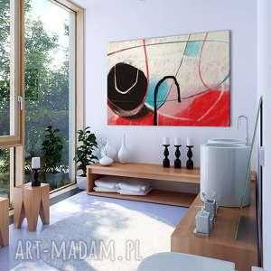 obraz na płotnie - 120x80cm abstrakcja 0226 wysyłka w 24h