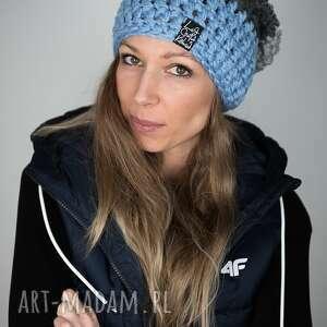 handmade czapki czapka triquence 29 - jasny niebieski