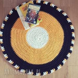 Dywan na szydełku średnica 78 cm koło , dywan, kolo, salon, szydlko, dziecko