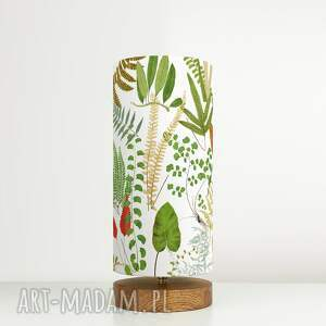 lampa stołowa leśna