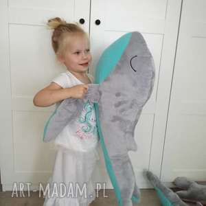 wielorybek podusia milusia - wieloryb, urodziny, dziecko, pokój