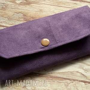 hand-made portfele portfelik z ekozamszu