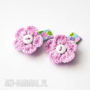 dla dziecka spineczki do włosów kwiatki, spineczki, babygirl, kwiatuszki