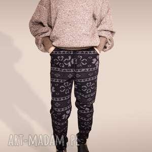 bluzy gruby sweter melanż, melange, gruby, ocieplony