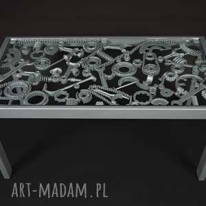 Stół, ława industrialna stoły steel design metalowy, kawowy