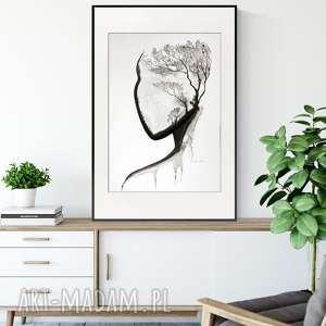 ART Krystyna Siwek? grafika 50X70 cm wykonana ręcznie, plakat