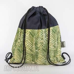 hand-made worek liście