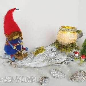 świecznik na saneczkach z kolekcji bald kommt weihnachten - święta