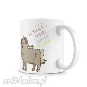 Prezent KUBEK - mops jendorożec, kubek, kawa, prezent, mops, pies
