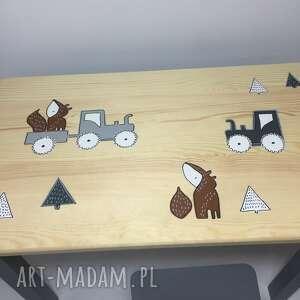 hand made pokoik dziecka stolik traktorki maluch