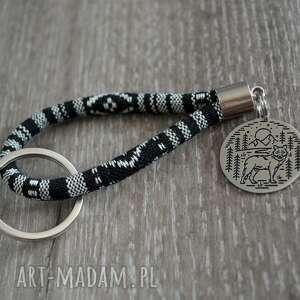 breloki brelok do kluczy wilk masayal, kluczy, styl boho, etniczny