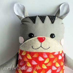 kotek tulikotek - basia - 40 cm - kotek, tulikotek, zabawka, maskotka, przytulanka