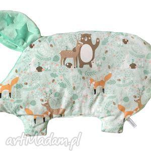 poduszka świnka, minky, poduszka, dziecko, niemowle, unikalne prezenty