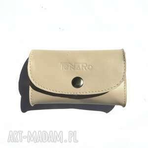 Skórzana portmonetka mini portfele tenaro skórzana, mini