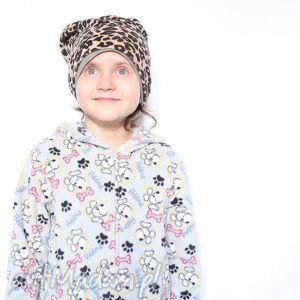czapka dziecięca mamo chce taką samą a1, dziecko, panterka, ciapki, mama