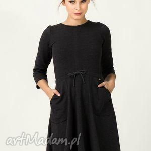 sukienka ilona 2, wyjątkowa, kobieca, wygodna, modna, rozkloszowana, dresowa
