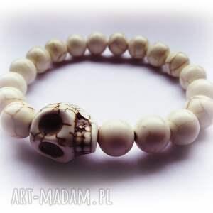 Czaki Bransoletki czaszka w kamieniach, czaszka, skull, kamienie, modna, elegancka