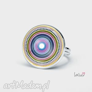 ręcznie robione pierścionki pierścionek love mandala