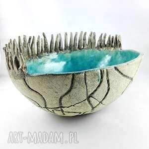 misa ceramiczna moeska, misa, dekoracje, sztuka, patera, prezent, rzeźba