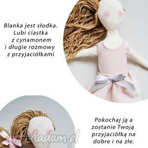 blanka, lalka, szmaciana, szmacianka, rękodzieło, prezent