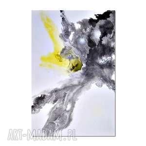acqua di follia 9, abstrakcja, nowoczesny obraz ręcznie malowany