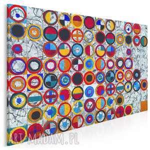 Obraz na płótnie - flagi kolorowe 120x80 cm 15701 vaku dsgn