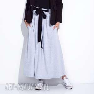 f503db3bbe Spódnice handmade wypukły splot szarewyprzedano spódnice szara spÓdnica do  kostek z kokardĄ