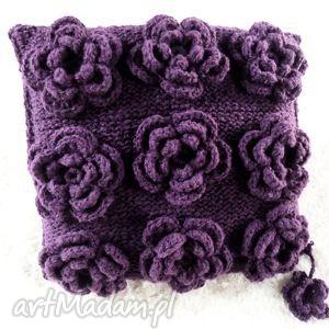 poduszki poduszka robiona ręcznie wełna 45x45 cm 1szt, poduszki, poduszka, poszewka