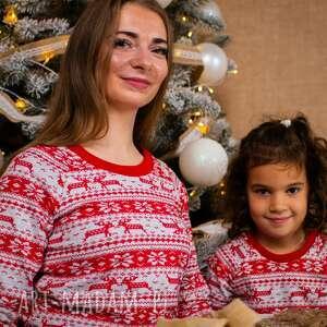 dla dziecka zestaw bluz świątecznych christmas czerwone prezent, boże narodzenie