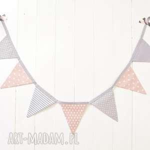Girlanda, girlanda, chorągiewki, proporczyki, trójkąty, dekoracja, proporczyk