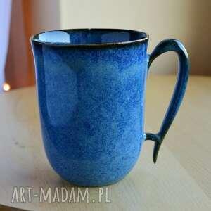 ceramika kubek ceramiczny 300 ml indygo niebieski, kubek, ceramika