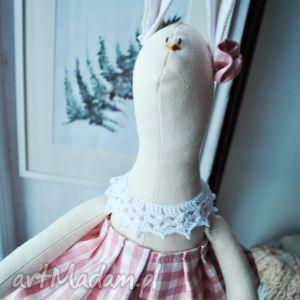 Prezent Pani Królik, zabawka, przytulanka, szmacianka, prezent, dziewczynki, urodziny